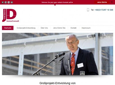 Jens Dörrie Großprojekt-Entwicklung