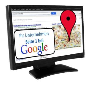 Ihr Unternehmen auf Seite 1 bei Google in 24 Stunden